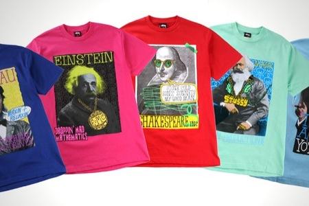 Renueva a los grandes genios en originales camisetas