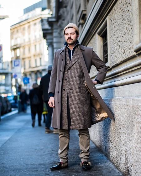 El Mejor Street Style De La Semana Se Inspira En El Urbanismo Y Los Grises De La Ciudad 02