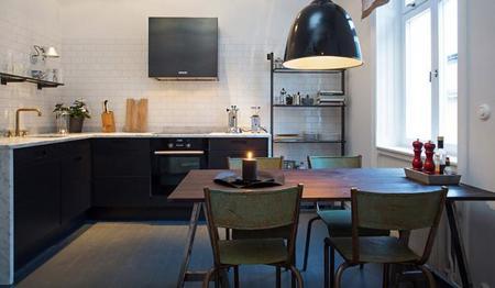 apartamento de 58 metros cuadrados en Estocolmo