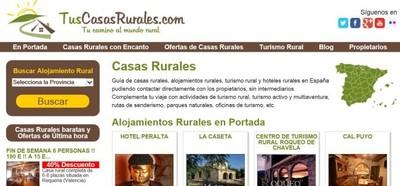 Tuscasasrurales ofrece un descuento a asociados de distintas entidades