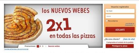 El jueves, día del 2x1 en Telepizza