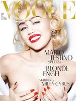 """Mario Testino retrata a Miley Cyrus al mejor estilo """"Marilyn"""""""
