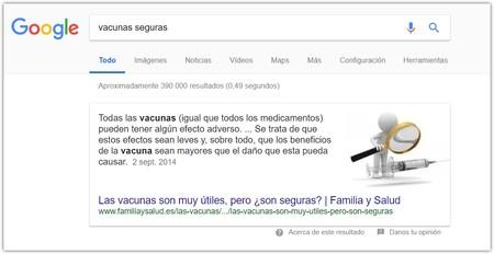 Busqueda Vacunas Peligrosas Google Destacado 3