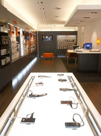 Nuevo concepto de Tiendas Orange