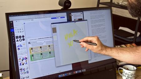 Newline Flex Review Xataka Escritura Pantalla Tactil2