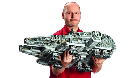 Millennium Falcon Lego 1