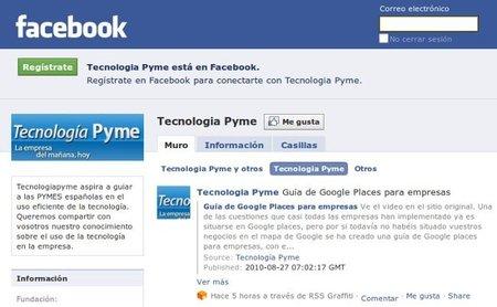 Cinco consejos para mejorar la página de tu empresa en Facebook