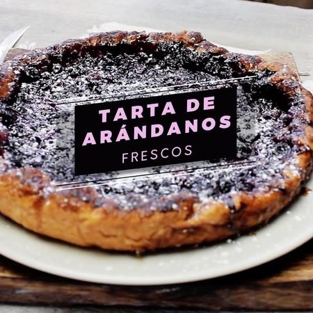 Tarta Arandanos