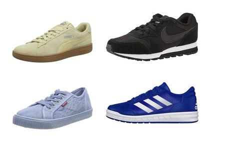 Chollos en tallas sueltas de zapatillas Levi's, Adidas, Nike o Puma por menos de 30 euros en Amazon