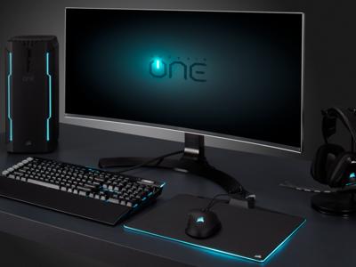 Corsair ONE: el primer PC gaming de Corsair une el Core i7-7700k con la GTX 1080 en el mejor formato