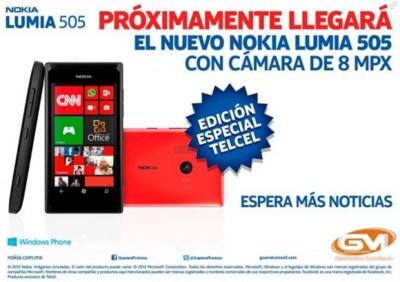 Aparece un Nokia Lumia 505 en México