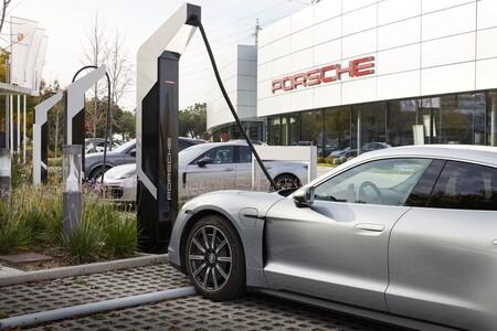 Porsche Estacion Carga Coche Electrico