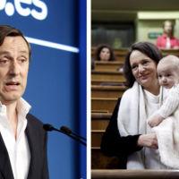 ¿Debería la diputada que fue al congreso con su bebé haber usado la guardería como sugiere el portavoz del PP?