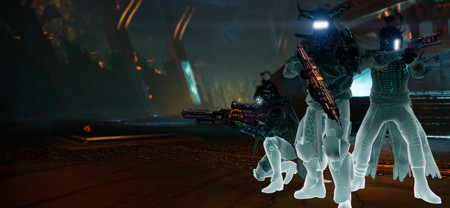 Tú eres único y Destiny quiere que tu guardián también lo sea... mediante de luces de neón