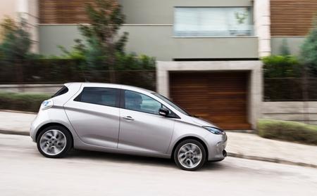 Renault ZOE exterior color gris 35