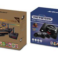 Las consolas mini de Atari Flashback y SEGA Genesis de AtGames se pondrán a la venta en septiembre