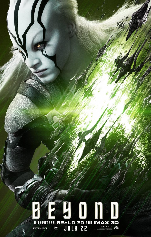 Foto de 'Star Trek: Más allá', nuevos carteles de los protagonistas (3/9)