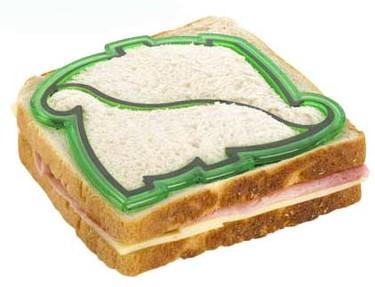 Molde de dinosaurio para sandwiches
