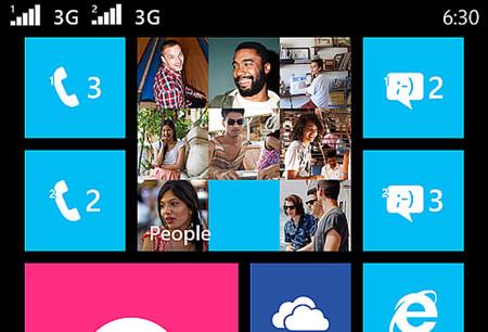 Una captura de pantalla nos confirma el terminal Dual-Sim de Nokia con botones en pantalla