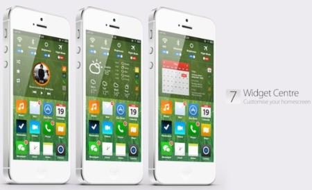 Imagen de la semana: otro concepto más de iOS 7