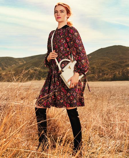 Campana De Emma Stone Para Louis Vuitton6