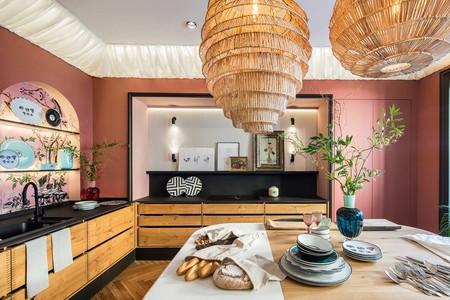 Cálida, sostenible y natural; así es la cocina Hauka de Casa Decor 2020