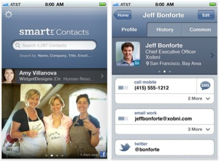 Smartr Contacts: la aplicación definitiva para tu agenda en iOS