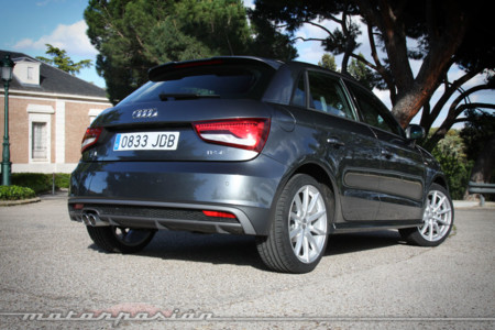 Audi A1 SportBack Prueba 14