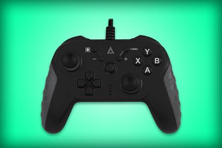 Por tan solo 189 pesos este control alámbrico USB de la marca Acteck te puede servir para jugar en PC y hasta consolas