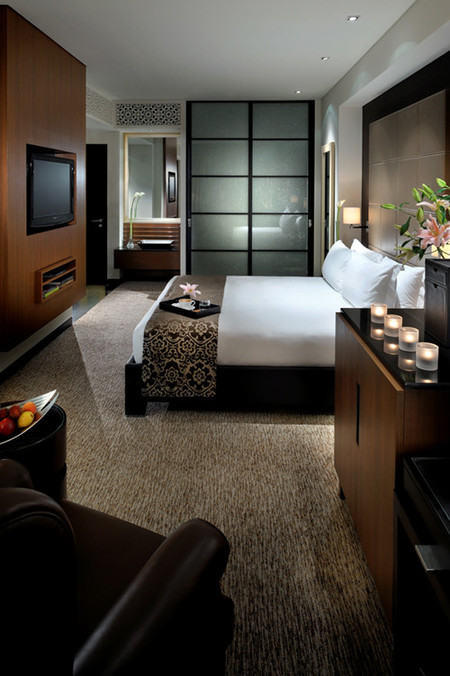 El interior de The Address Dubai Hotel