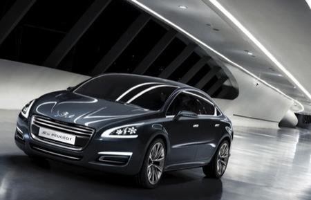 5 by Peugeot, la futura berlina de representación