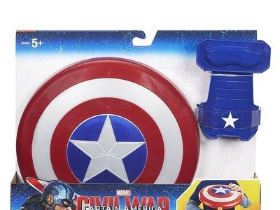 El escudo del Capitán América con muñequera magnética esta rebajado a 12,98 euros en Amazon