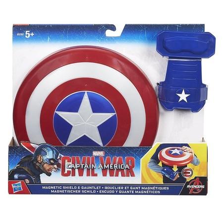 El escudo del Capitán América con muñequera magnética esta rebajado a 10,26 euros en Amazon