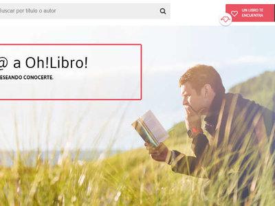 Llega Oh! Libro, la plataforma que te recomienda tu próximo libro
