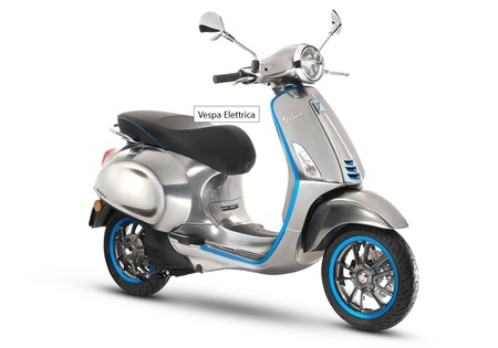 La primera moto eléctrica de Vespa llegará en 2018, nos gusta todo (menos la autonomía)