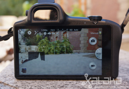 Samsung Galaxy NX Sensor