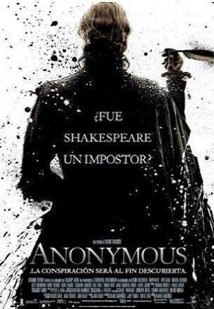 Cartel de Anonymous, nueva película de Roland Emmerich