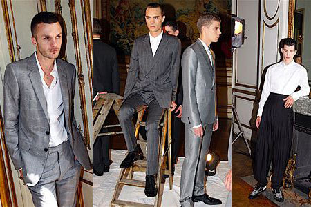 Kris van Assche debuta con Dior Homme