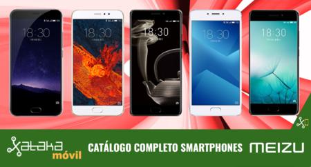 Así queda el catálogo de smartphones Meizu con las novedades en las familias PRO, MX, M y E de 2017