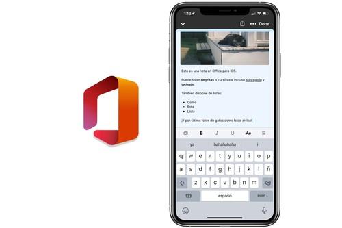 Hemos probado el nuevo Office para iOS: así ha unificado Microsoft en una sola app Word, Excel, notas y más herramientas