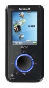 SanDisk Sansa e270, MP3 con 6 GB