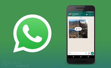 Cómo disfrutar de los nuevos álbumes de fotos de WhatsApp en Android