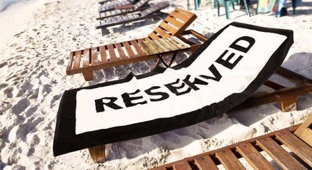Toalla reserved
