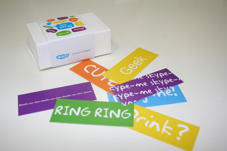 Skype Minicards