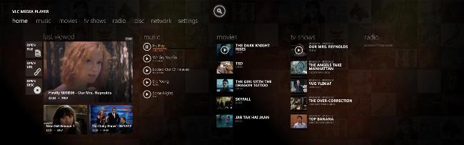 VLC App Home