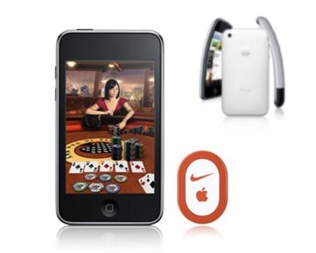 Nike+ incluido en el firmware 2.1 sólo es compatible con el iPod Touch 2G