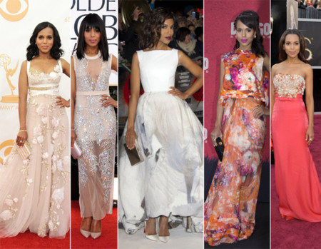 Kerry Washington mejor looks 2013