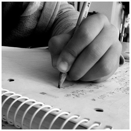 El comienzo de la escritura en los niños zurdos