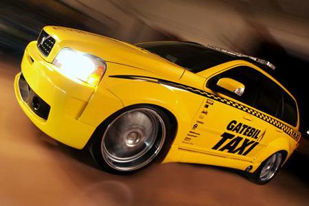 Volvo XC90 Gatebil, el taxi sueco más brutal
