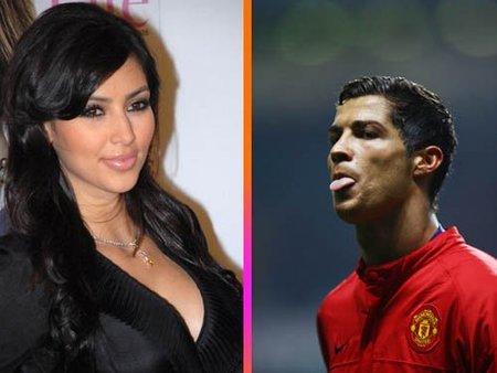 ¿Se habrá ligado Kim Kardashian a Cristiano Ronaldo?